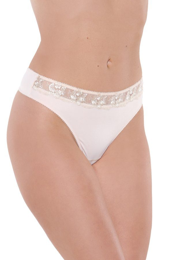 Fit Fully Yours Gloria Smooth Lace Thong U1041