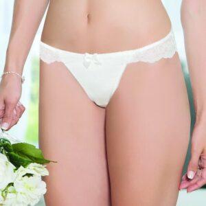 Parfait Pearl Lace Brazilian Thong A10441