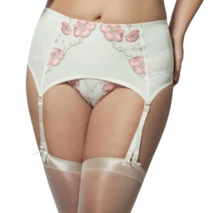 Elila Glamour Embroidery Garter 9421
