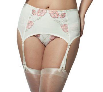 Elila Glamour Embroidery Garter 9421