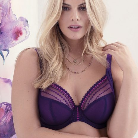 Elomi Matilda Plunge Bra el8900 in Purple