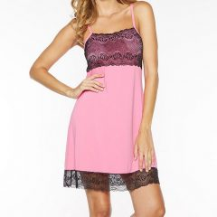 Rhonda Shear Chemise With Shelf Bra 7914