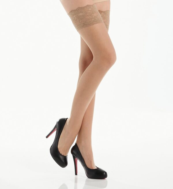 Berkshire French Lace Thigh High Stockings 1363