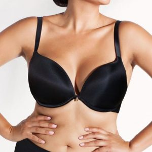 Curvy Couture Perfect Plunge Bra 1129