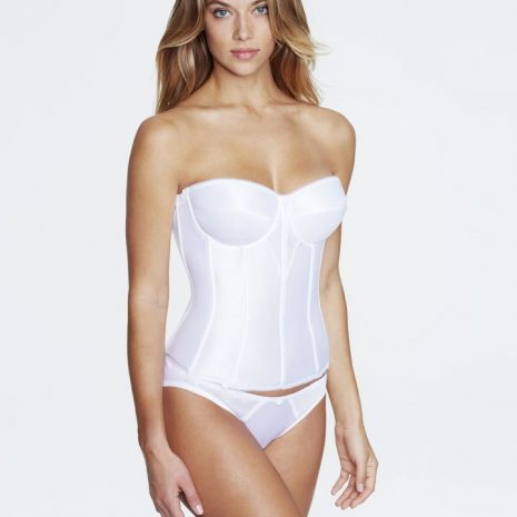 Dominique Juliette Satin Corset 8950