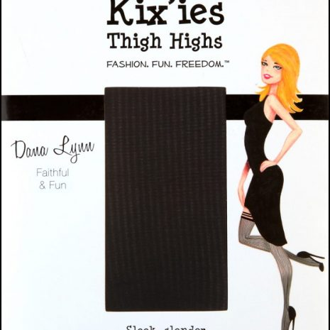"Kixies ""DanaLynn"" thigh high stockings at Belle Lacet"