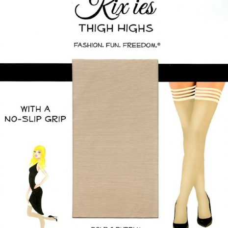 "Kixies ""Jenny"" thigh high stockings."