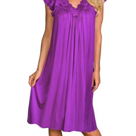 8546278bfd5 Shadowline® Short Lace Cap Sleeve Nightgown 36737x