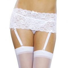 iCollection Lace Garter Belt 7387
