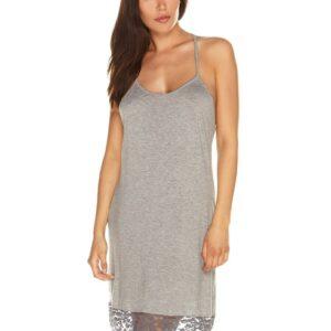 Cosabella Women's Grey Nouveau Slip Chemise