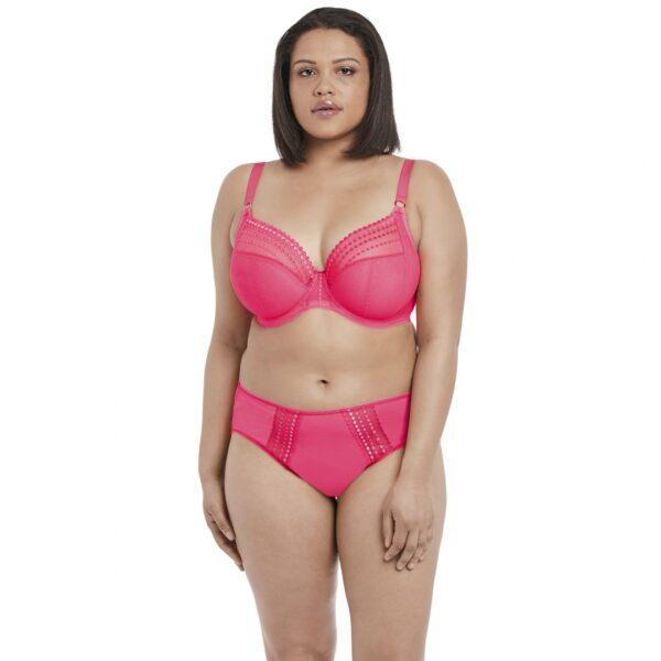 Elomi Matilda Underwire Plunge Bra EL8900 in Neon Pink