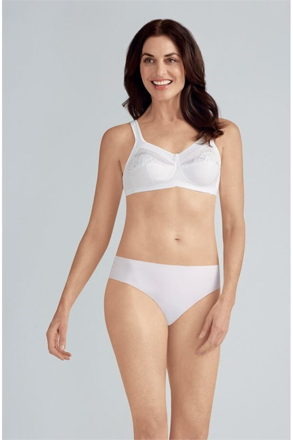 price reduced official site best sale Amoena Isadora Wire-Free Soft Cup Bra 2947