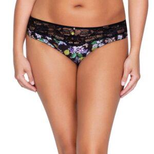 Parfait Ava Bikini Panty in Black Floral | P5373