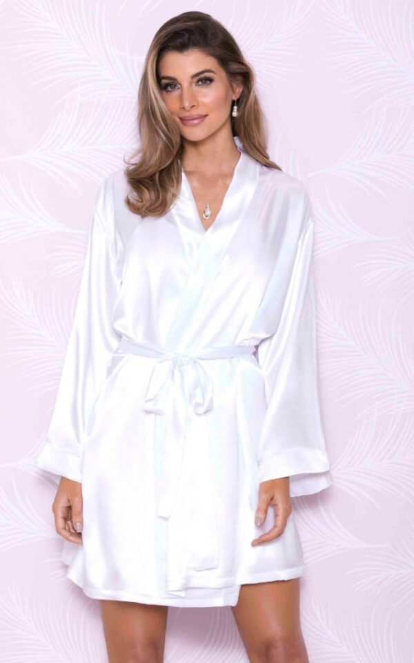 iCollection Satin Robe | 7854