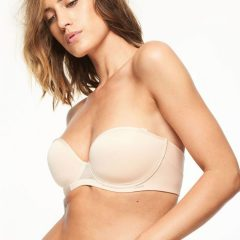 Chantelle Modern Invisible Silicone Free Lightweight Strapless Bra | 2195