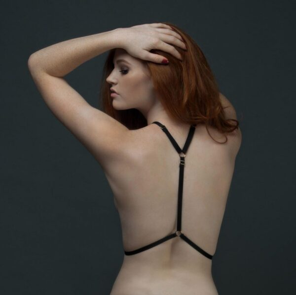 MIla Harness back view