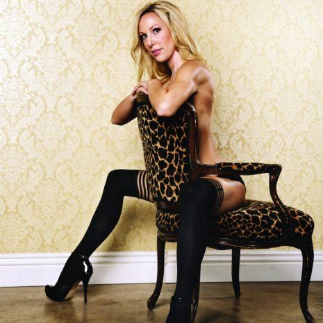 Kix'ies Dana Lynn Thigh High Stockings 1303