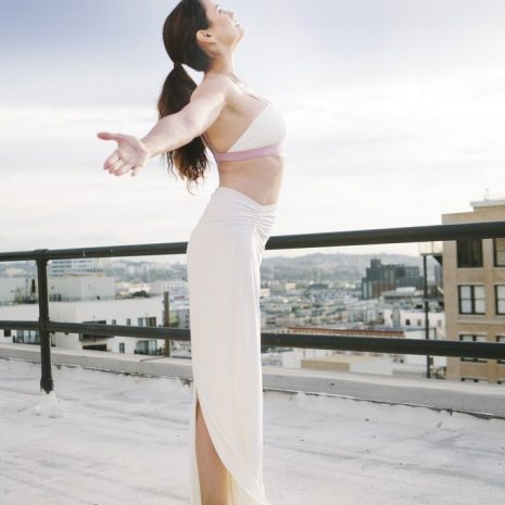 Activ Intimates Free Spirit Modal Bralette and High-Waist Modal Lounge Pants