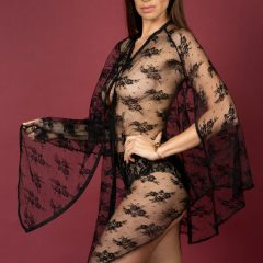 Activ Intimates Ultra-Sheer Poncho Peignoir
