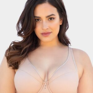 Curvy Couture High Apex Diamond Net Bombshell bra 1336