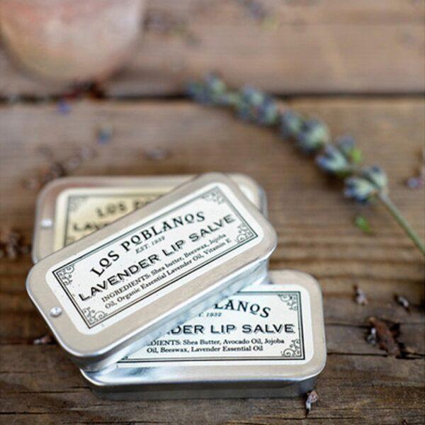 Los Pablanos Lavender Lip Salve