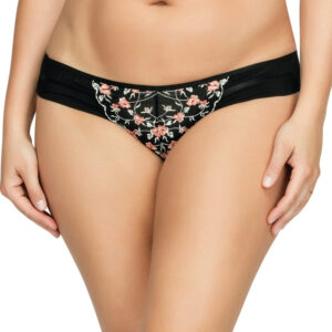 Parfait Brianna Black Floral Brief | P5673