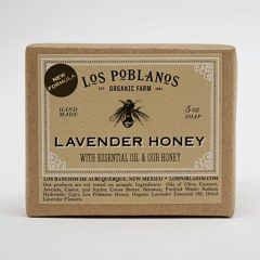 Los Poblanos Handmade Lavender Honey Soap
