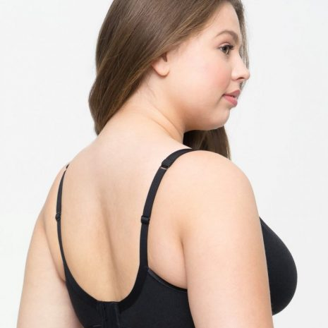 Curvy Couture Cotton Luxe Unlined Bra