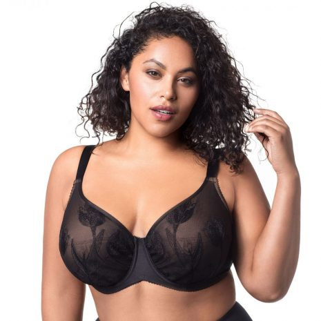 Elila Tulip Embroidered Underwire Bra