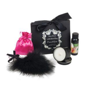 Oliva's Boudoir Little Black Bag - French Kiss