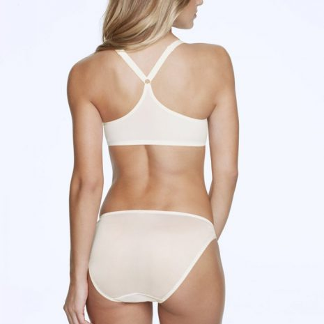 Back view of Dominique Talia Racerback Front Closure Bra 3900