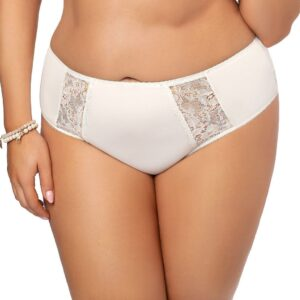Gorsenia Peony High Waist Panty with Lace K484