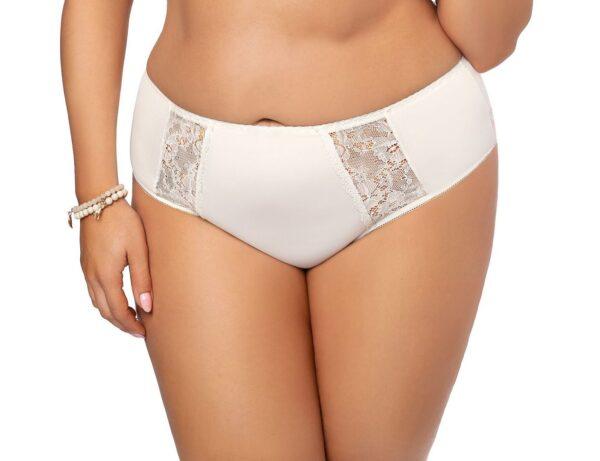 Gorsenia Peony High Waist Panty with Lace K484