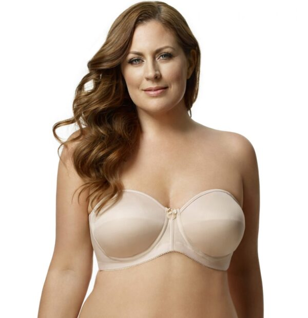 Elila Simplex Molded Tricot Strapless Bra 4820 front