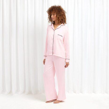 Bluebella Abigail Shirt and Trouser Set 31598 at Belle Lacet Lingerie, Chandler