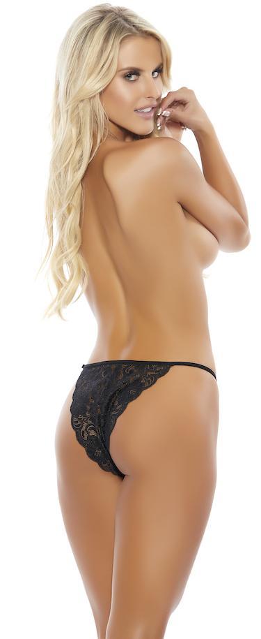 Popsi Lace String Bikini Panty 506 at Belle Lacet Lingerie, Chandler