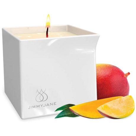 JimmyJane Afterglow Candle (Mystic Mango) at Belle Lacet Lingerie in Chandler-Phoenix.
