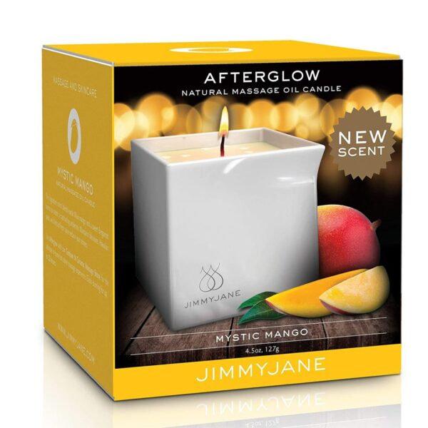 JimmyJane Afterglow Candle (Mystic Mango)