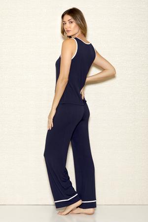 iCollection Modal Cami & Long Pants Set 7805