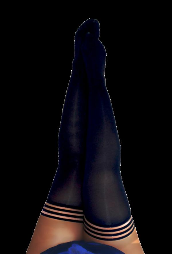 Kix'ies Danielle Thigh High Stockings 1319 in Plus Size