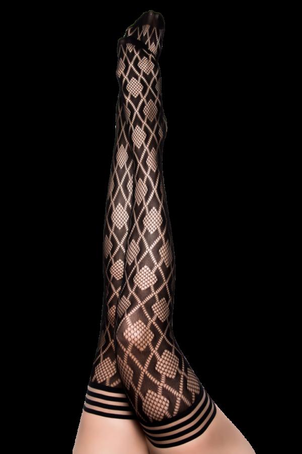 Kix'ies Elle Thigh High Stockings 1316