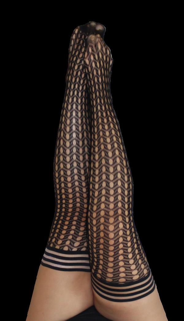 Kix'ies Mimi Thigh High Stockings 1317