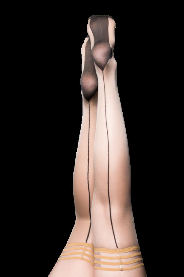 Kix'ies Ruby Thigh High Stockings 1318