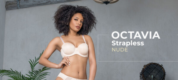 Fit Fully Yours Octavia Strapless Bra B5011 at Belle Lacet Lingerie