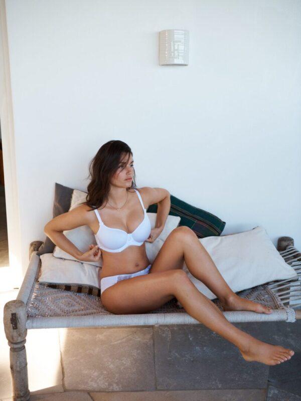 Panache Cari Spacer bra | 7961 in White at Belle Lacet Lingerie