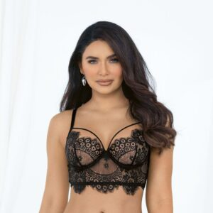 ISABELLA Eyelash Lace Bra by Escante at Belle Lacet Lingerie
