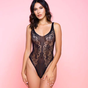 Laced With Love Sleeveless Teddy at Belle Lacet Lingerie