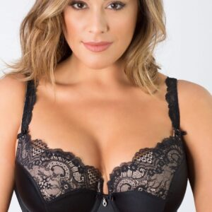 Tulip Molded Lace Push-Up Bra at Belle Lacet Lingerie