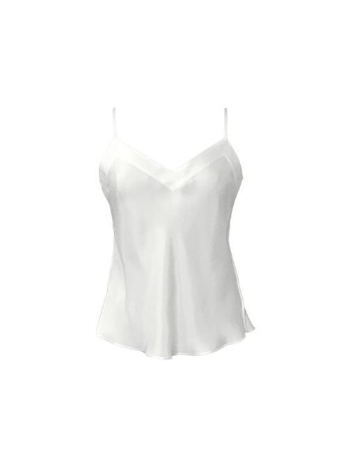 AUNDREA Silk Camisole at Belle Lacet Lingerie