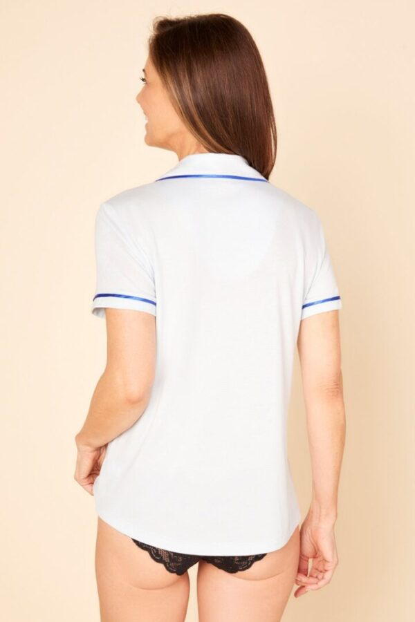 BELLA Short Sleeve Pajama Top from Cosabella at Belle Lacet Lingerie